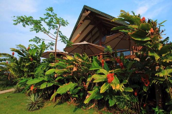 Tenorio Lodge Hauptgebäude