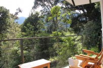 Dantica Lodge Suite -Blick vom Balkon