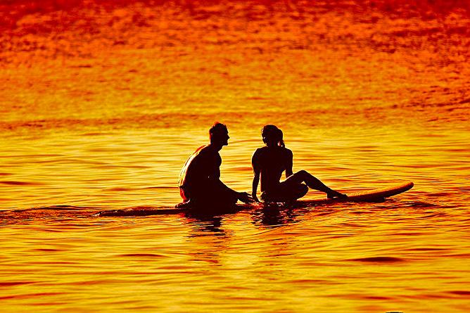 Puntarenas Malpais Sonnenuntergang