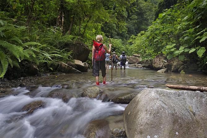 Selva Bananito Lodge – Flusswanderung