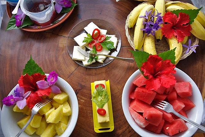Selva Bananito Lodge – Frühstück