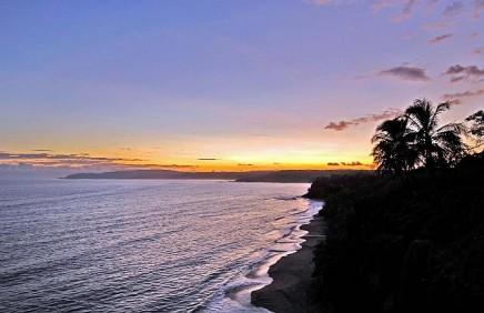 Sonnenuntergang von der Aussichtsplatform