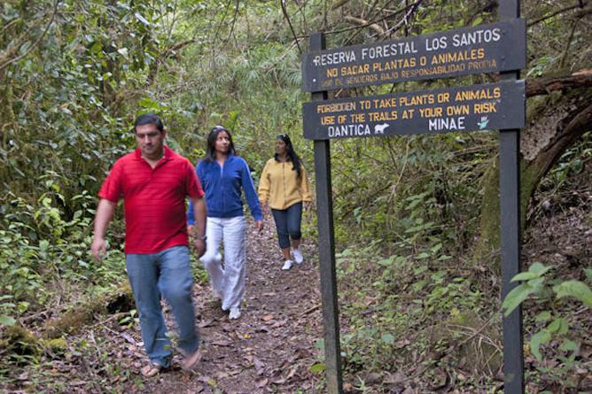 Dantica Lodge Wanderweg