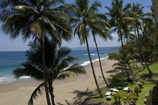 Tango Mar – Sicht von den Beachfront Zimmern