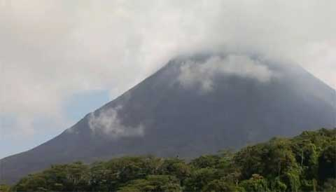Der Vulkan Arenal in Costa Rica