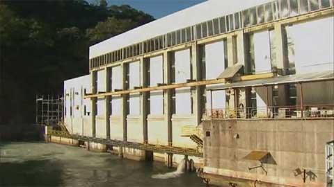 Hydroelektrisches Kraftwerk in Arenal, Costa Rica