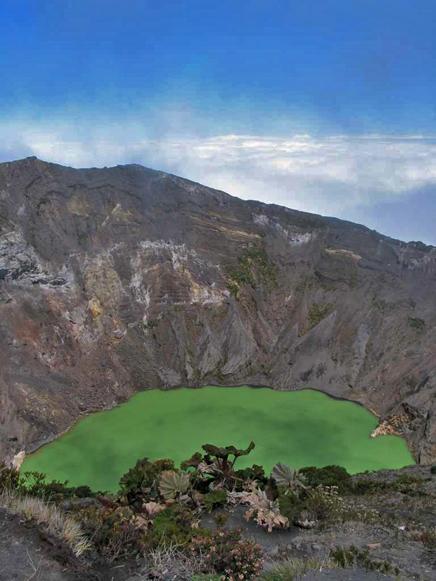 Vulkankrater Irazú