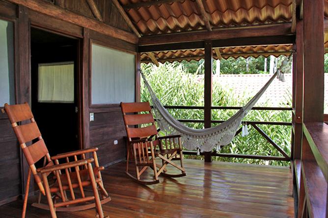 La Anita Rainforest Lodge Terrasse