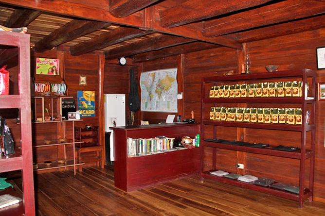 La Anita Rainforest Lodge Kakao, Souvenirs
