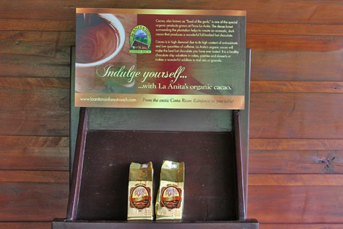 La Anita Rainforest Lodge Kakao