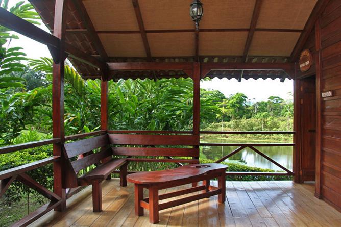 La Anita Rainforest Lodge Rezeption