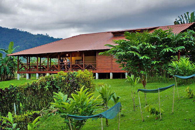 La Anita Rainforest Lodge Restaurant