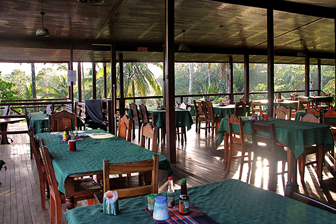 Laguna del Lagarto Lodge – Restaurant