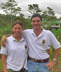 La Anita Rainforest Ranch Ana und Pablo