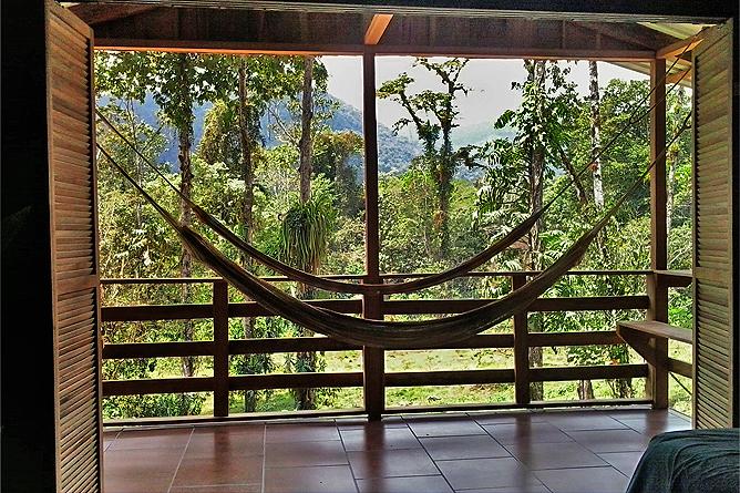 Selva Bananito Lodge – Hängematten