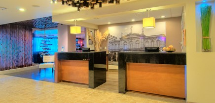 Tryp Sabana Rezeption