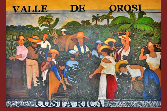 Valle de Orosi Costa Rica