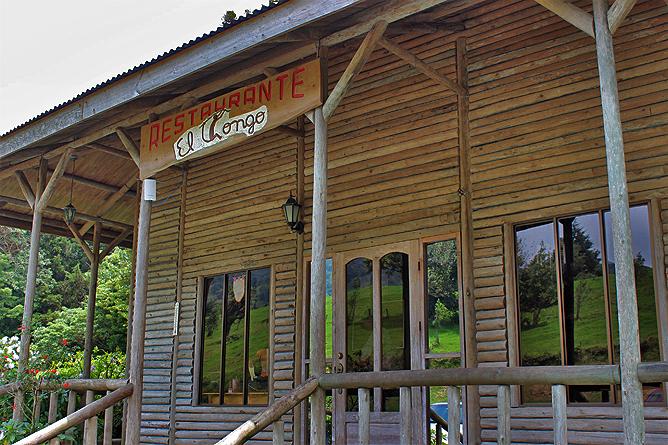 Albergue Pozo Verde – Restaurant: Eingang