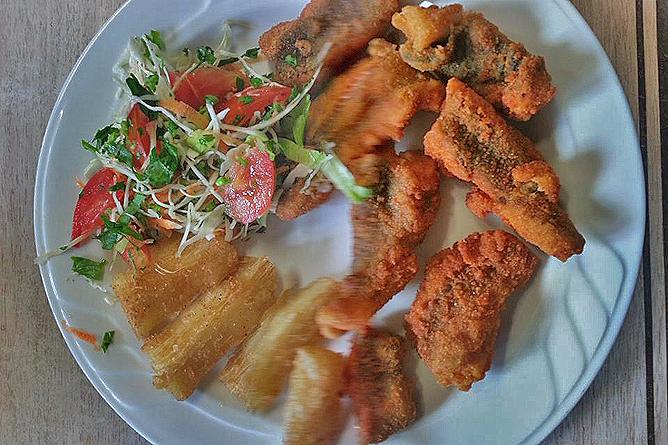 Albergue Pozo Verde – Restaurant: Hausmannskost