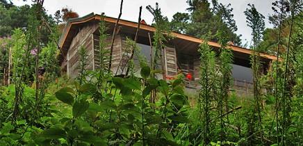 Albergue-Pozo-Verde-Standard-Zimmer-Aussenansicht