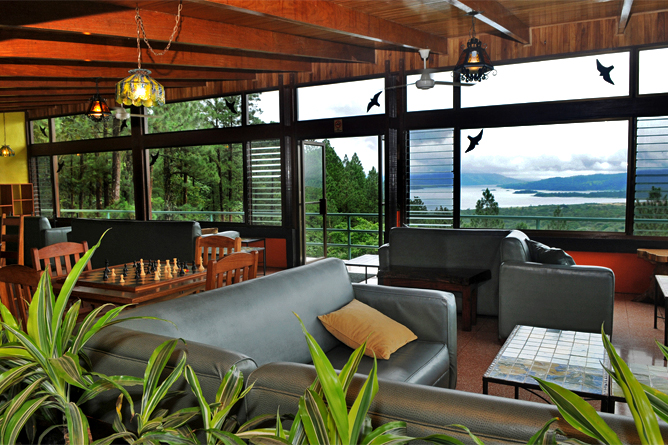 Arenal Observatory Lodge – Lobby