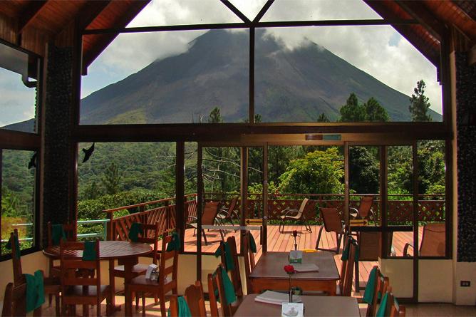 Arenal Observatory – Restaurant