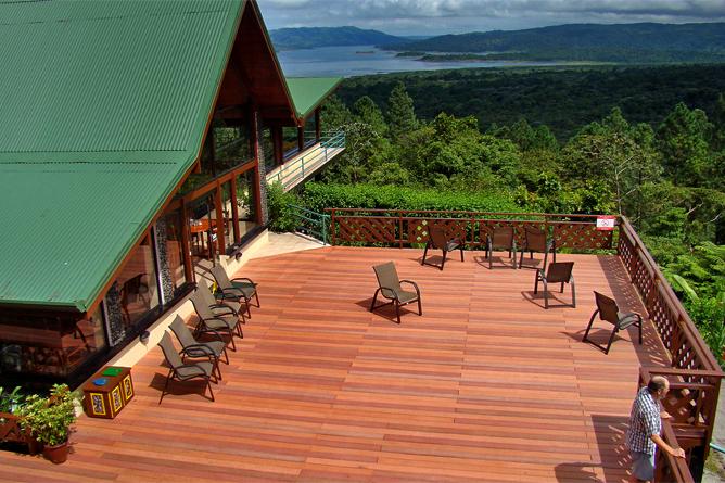 Arenal Observatory Lodge – Restaurantterasse