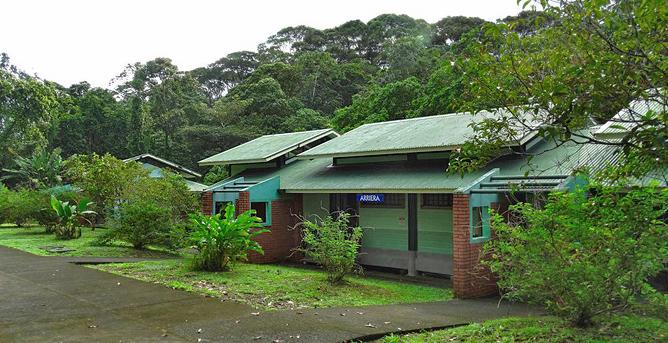 Biologische Station Bungalow Zimmer Arriera