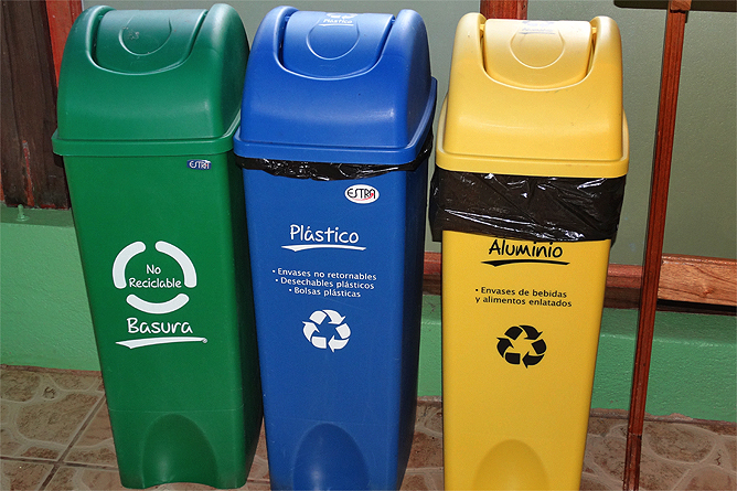 Biologische Station Recycling Programm