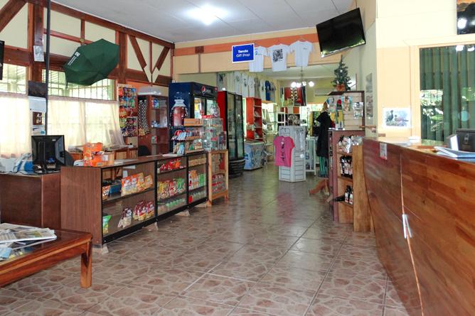 Biologische Station Rezeption und Shop