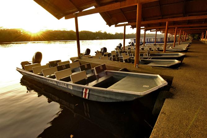 Laguna Lodge Tortuguero – Bootsanlegestelle Tortuguero