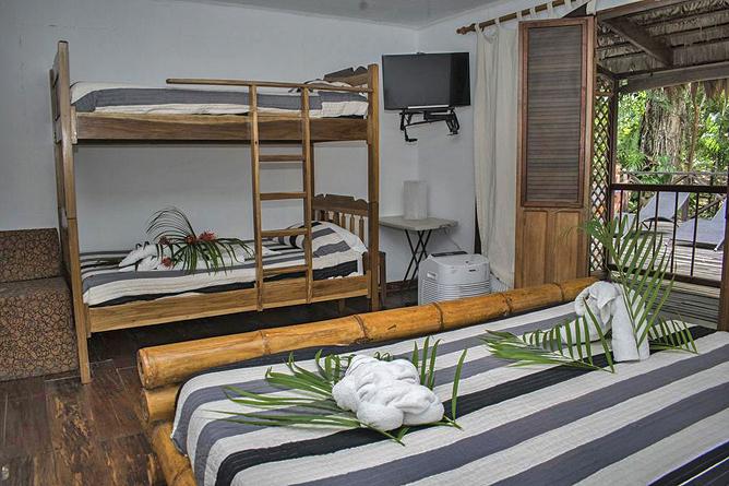 Bugabutik Standard Zimmer für Familien mit Stockbett