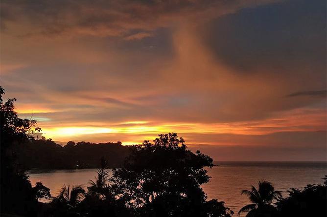 Drake Bay Strand Abendstimmung