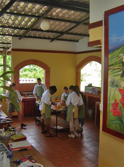 Guayabo Lodge – Kochkurs