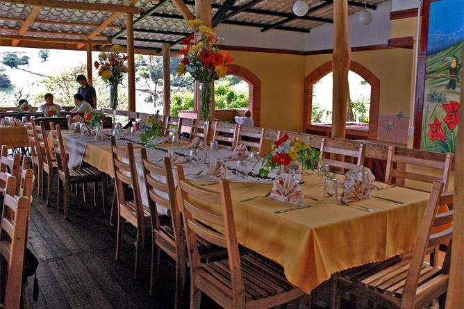 Guayabo Lodge – Restaurante
