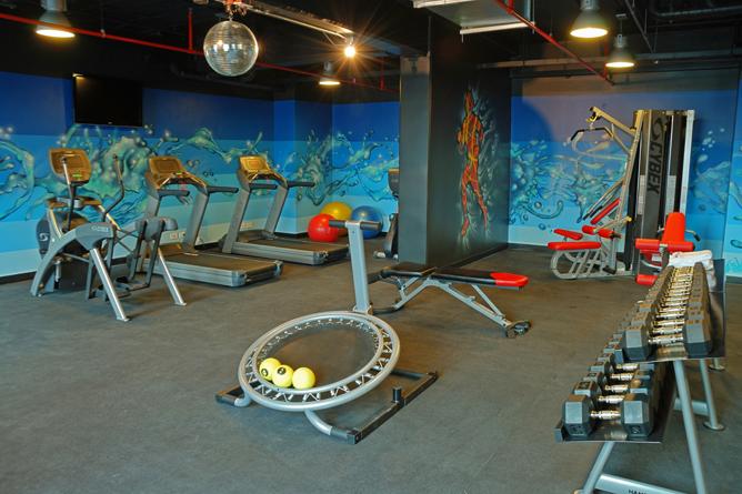 Park Inn – Fitnessstudio