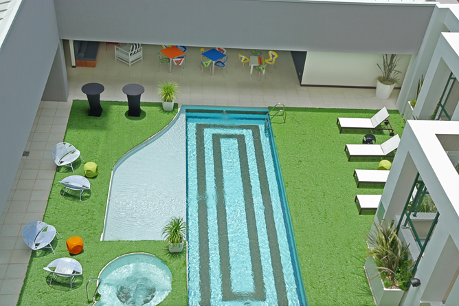 Park Inn – Poolbereich
