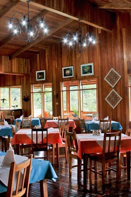 Monteverde Cloud Forest Lodge Restaurant