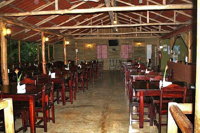 Tirimbina-Lodge – Restaurant