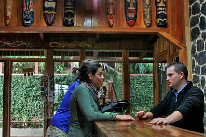 Monteverde Cloud Forest Lodge Rezeption