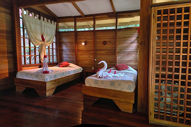 Samasati Nature Retreat – Bungalow mit Einzelbetten