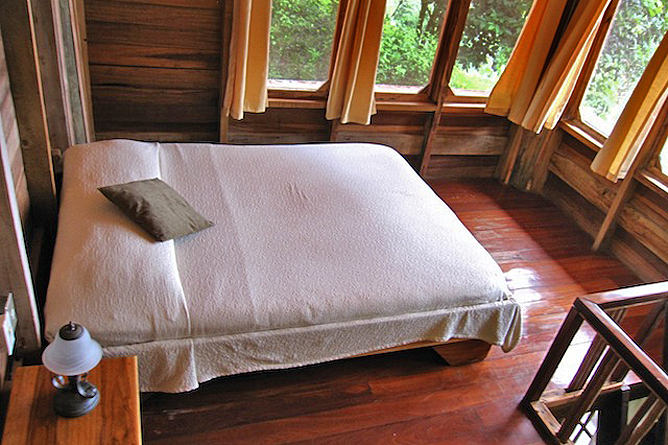 Samasati Nature Retreat – Bungalow mit Doppelbett im Loft