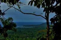 Samasati: Aussicht vom Namaste-Haus
