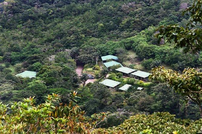 Monteverde Cloud Forest Lodge: Blick auf die Anlage