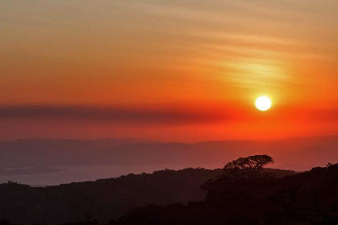 Monteverde Cloud Forest Lodge Sonnenuntergang