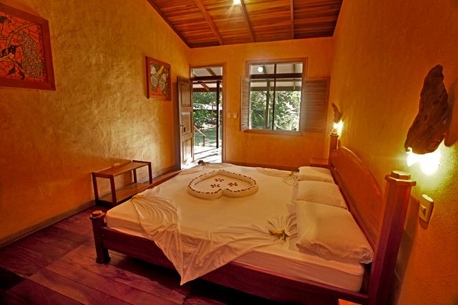 Laguna Lodge Tortuguero – Standard-Zimmer mit Gartensicht