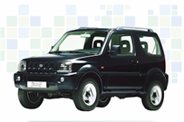 Suzuki Jimny – Adobe Rent-a-car Costa Rica – nachhaltig zertifizierter Tourismusanbieter