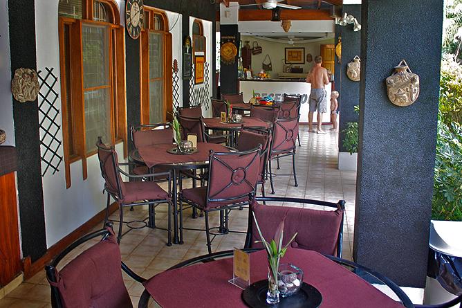 Villa Romantica – Frühstücksterrasse