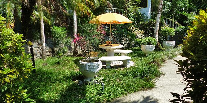 Villa Romantica – Garten