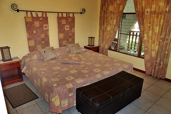 Villa Romantica – Standard-Zimmer Doppelbett